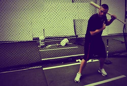 One Arm Hitting Drills with Top Hand, Bottom Hand